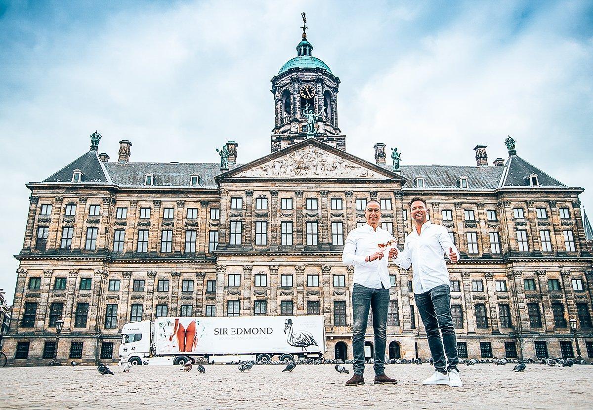 Founders TJ van der Drift en Dominique Makatita, Sir Edmond Gin, Alles over gin.