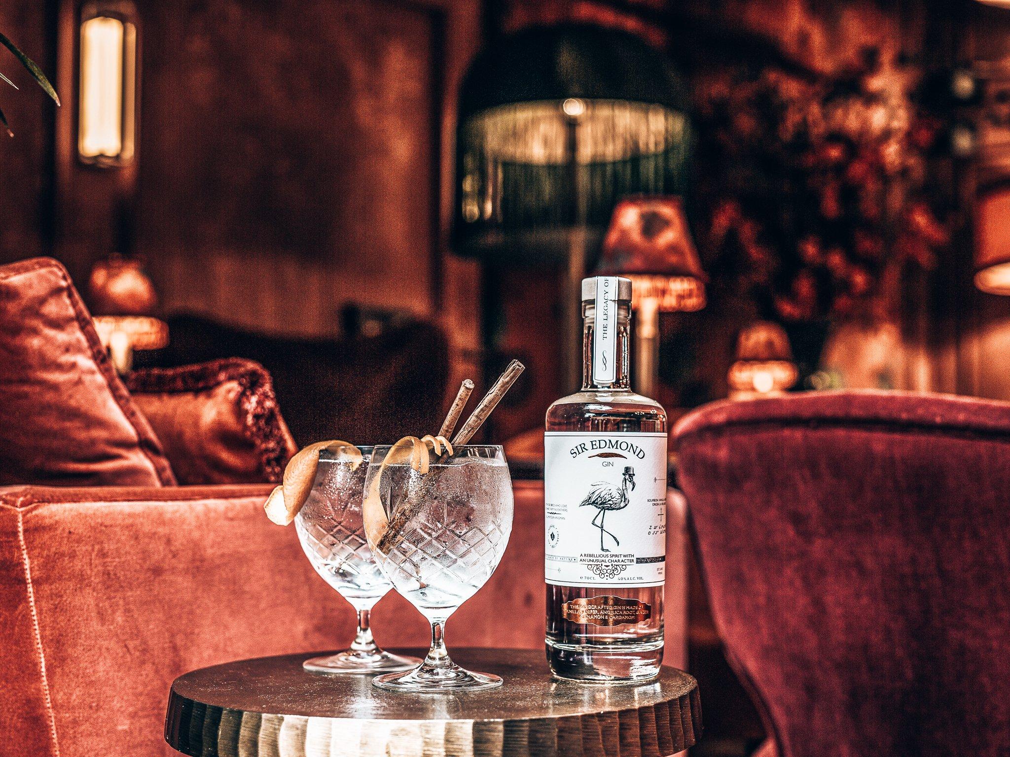 Sir Edmond Gin, één van de beste gins ter wereld, Alles over gin.